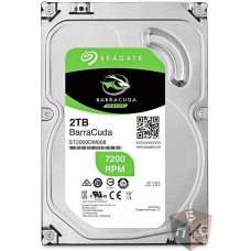 "Жесткий диск SEAGATE Barracuda ,2Тб, SATA III, 3.5"" ST2000DM008"