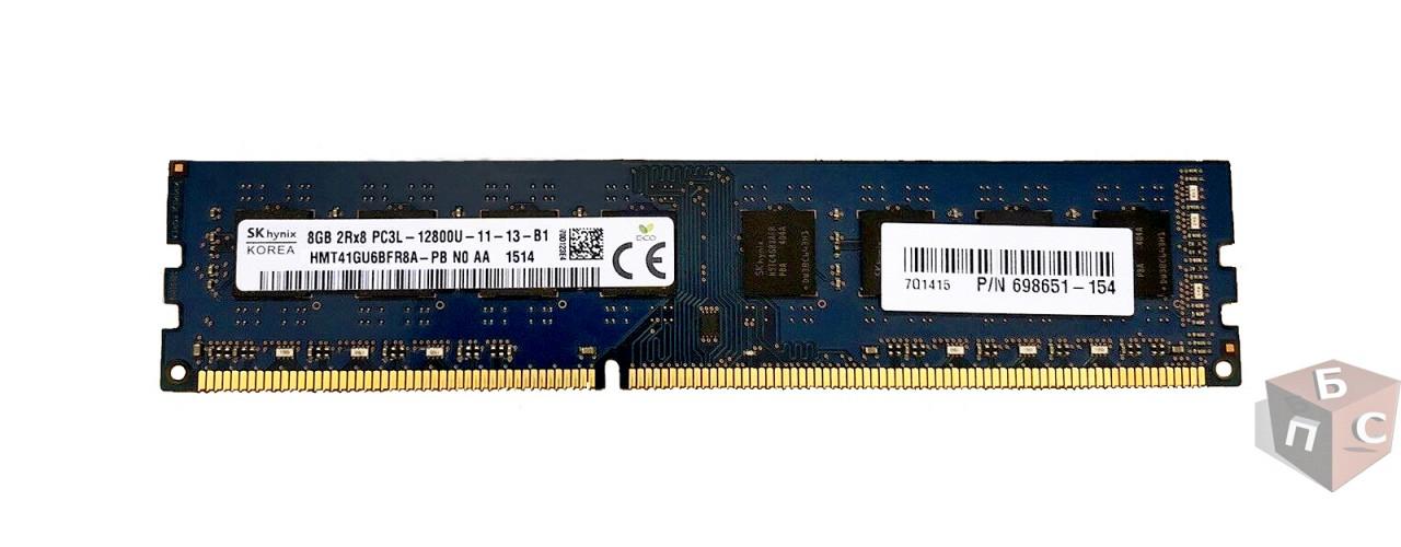 Оперативная память SK Hynix DDR3L 8 ГБ