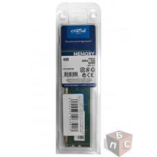 Оперативная память Crucial 4GB DDR3L DIMM 1600 MHz CT51264BD160B