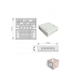 Монтаж розеточной коробки в полую стену